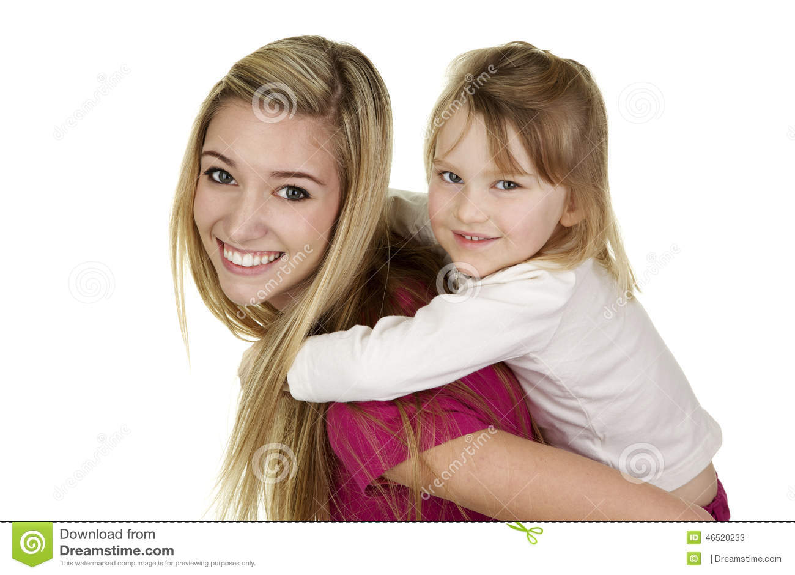 Blond Babysitter