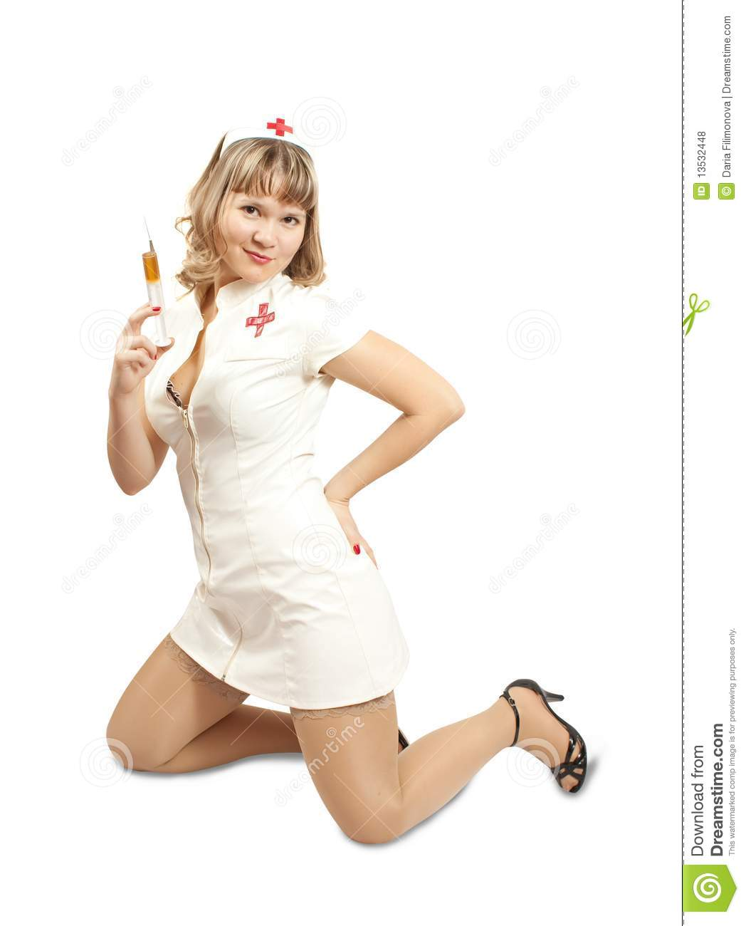 Pretty Nurse Royalty Free Stock Photos - Image: 13532448