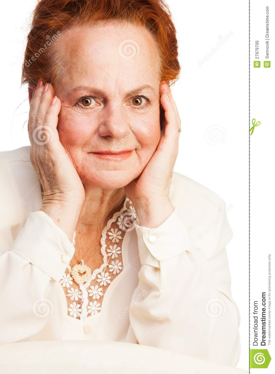 Pretty Old Lady Stock Photo - Image: 27979700