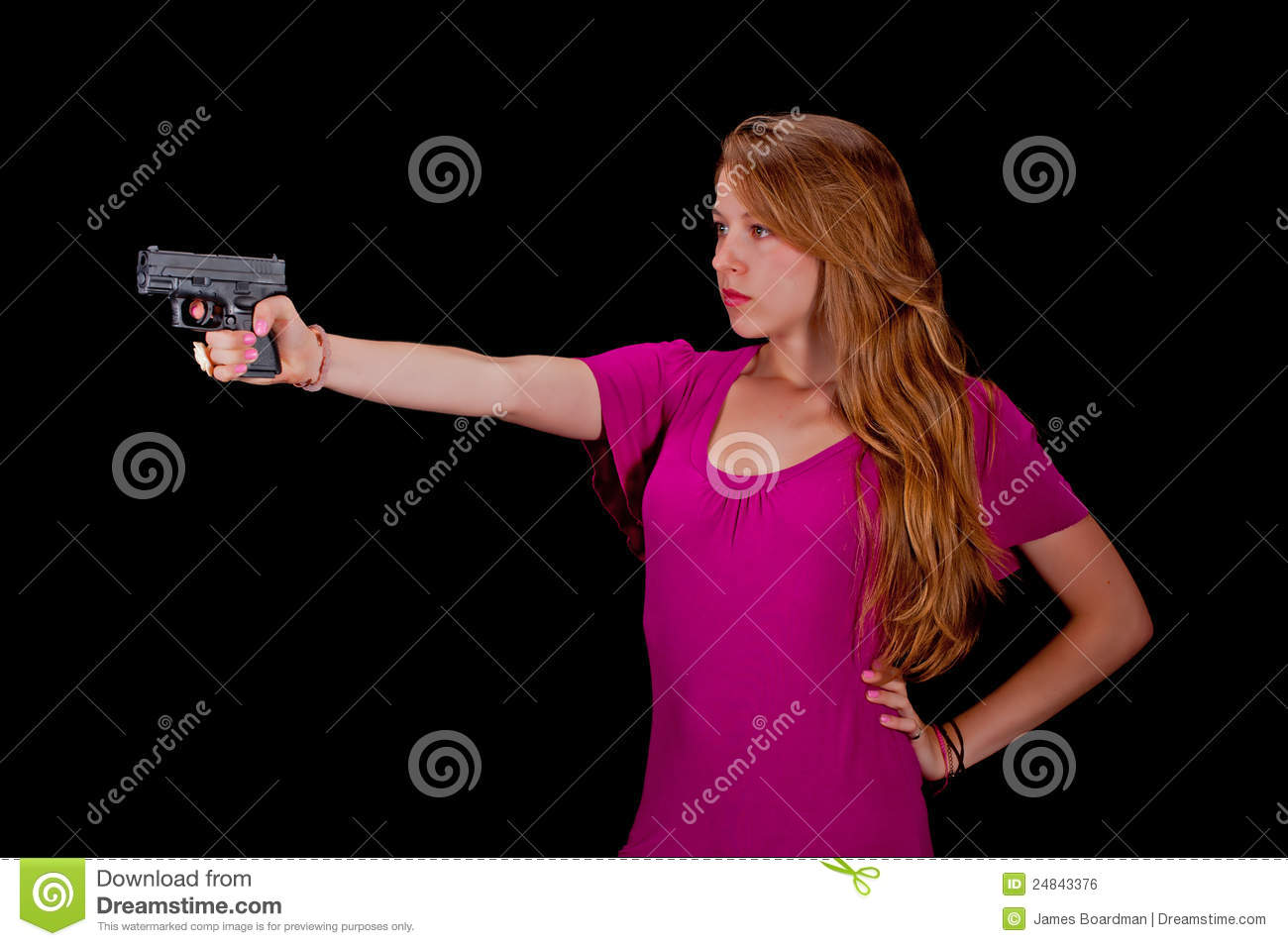 how to carry a gun while wearing a dress