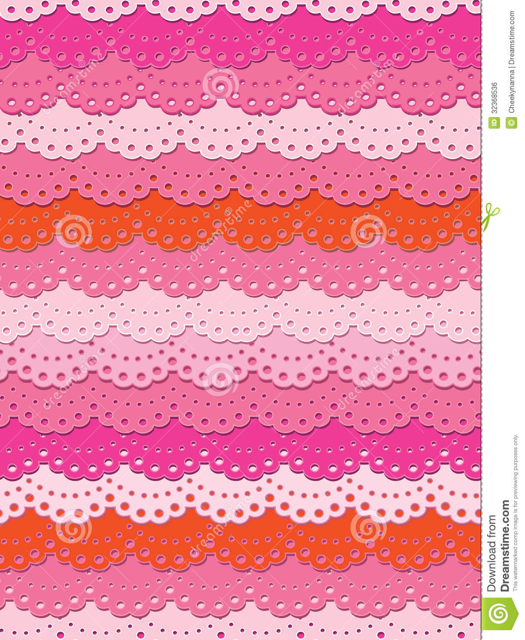 Pretty Pink Lace Stock Vector Illustration Of Textile