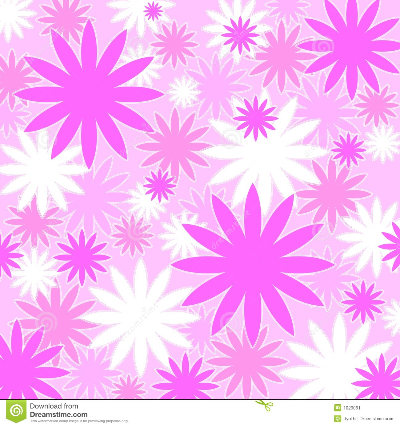 Pretty Pink Pattern Stock Image Image 1029061