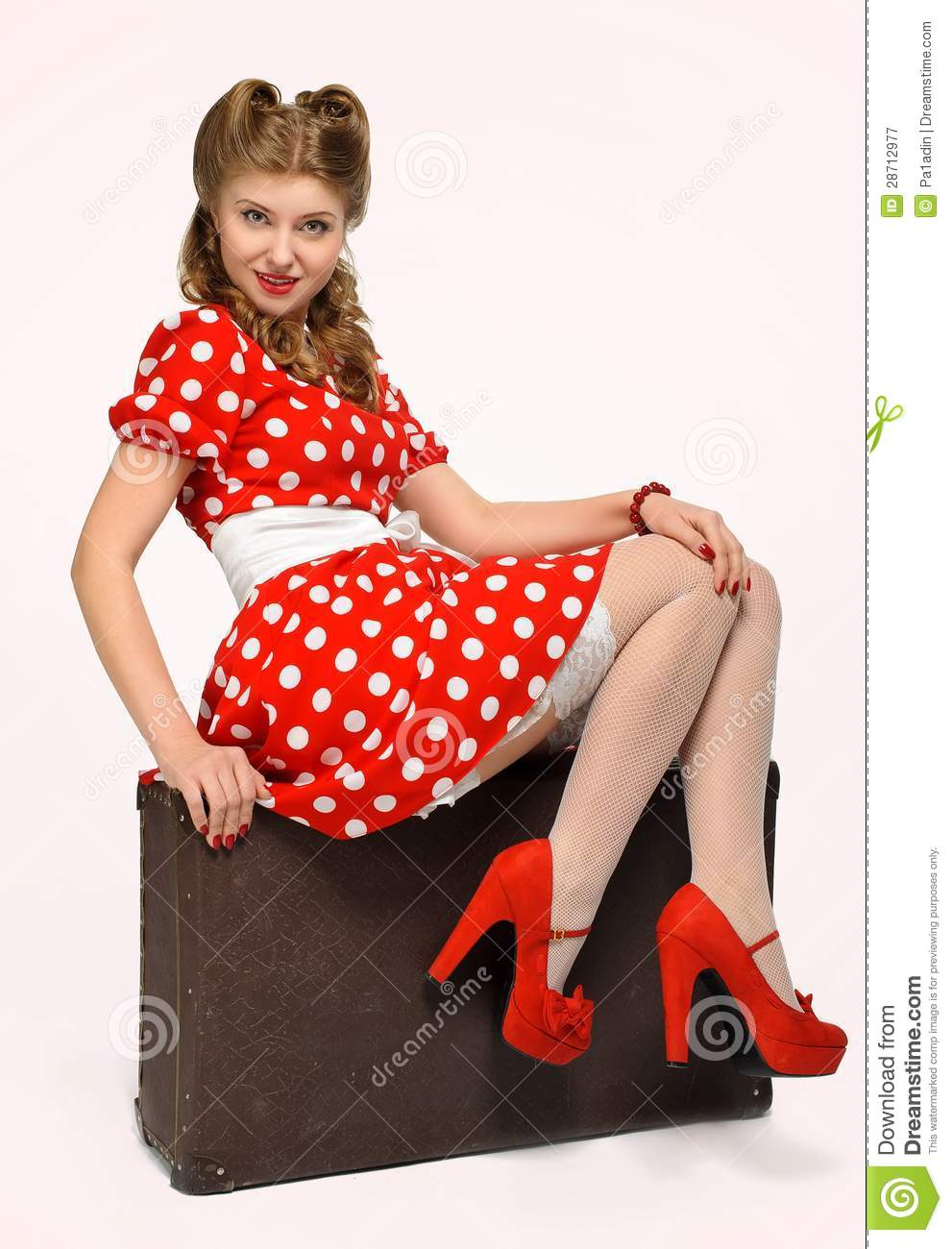 Pretty pinup girl royalty free stock photography image 28712977 - Photo pin up ...