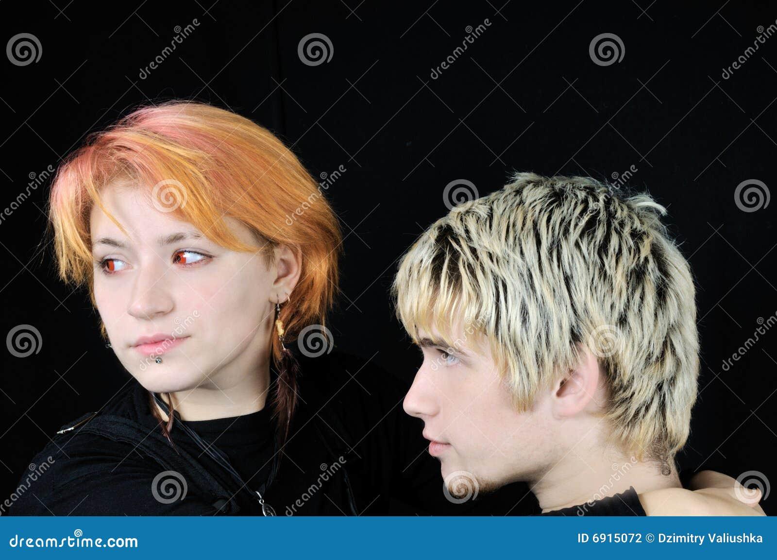 young guy girl:
