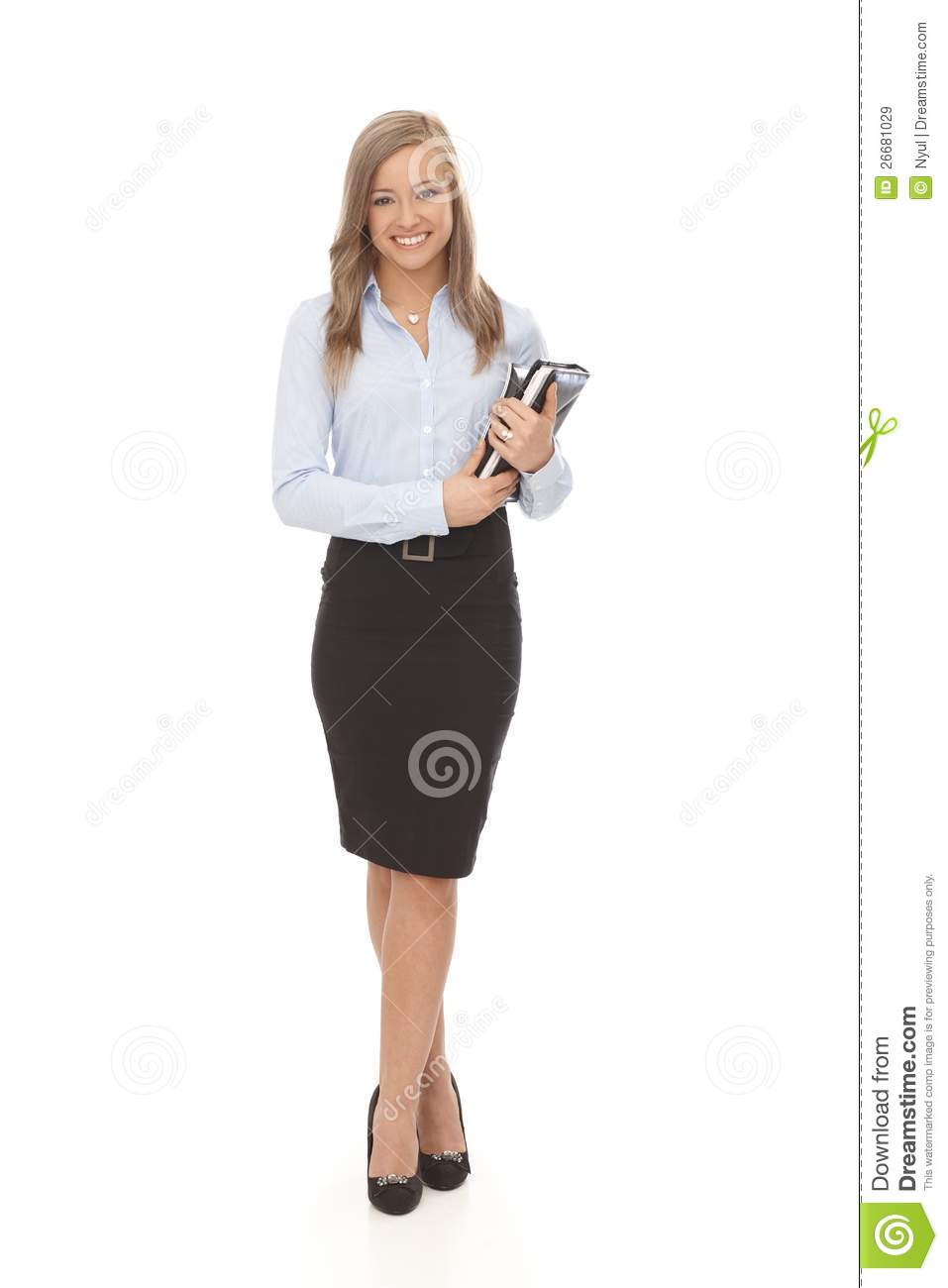 Pretty secretary full size royalty free stock images image 26681029