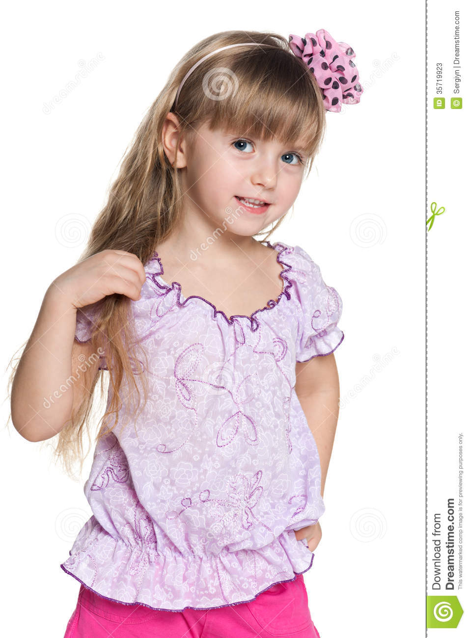 Pretty small girl stock photos image 35719923 - Pics of small little girls ...