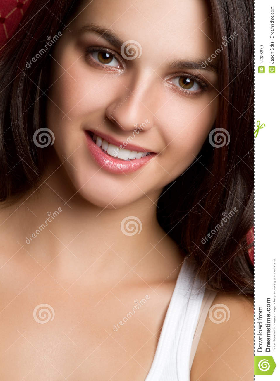 Pretty Smile Girl Royalty Free Stock Images
