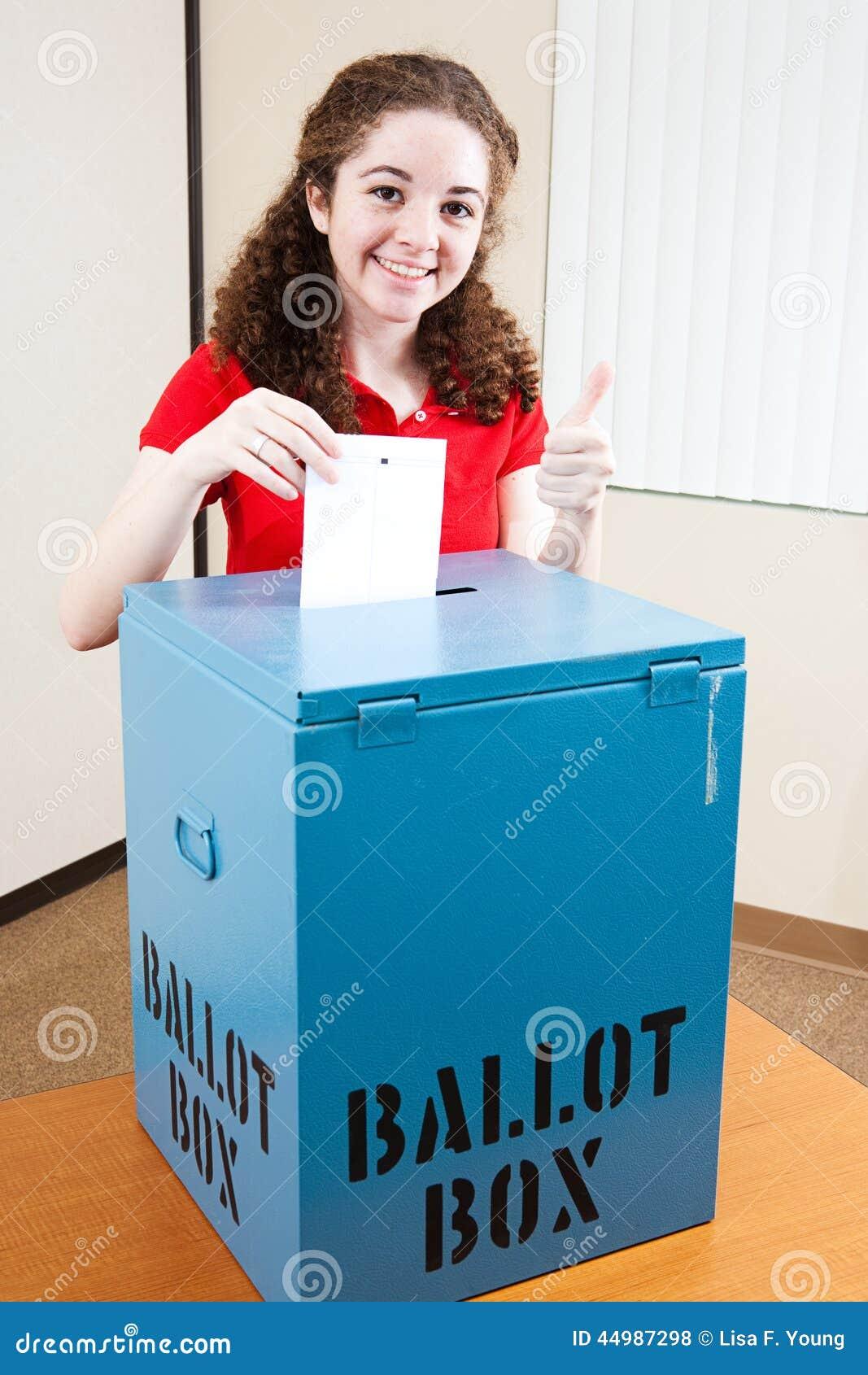 Teen Voting 86