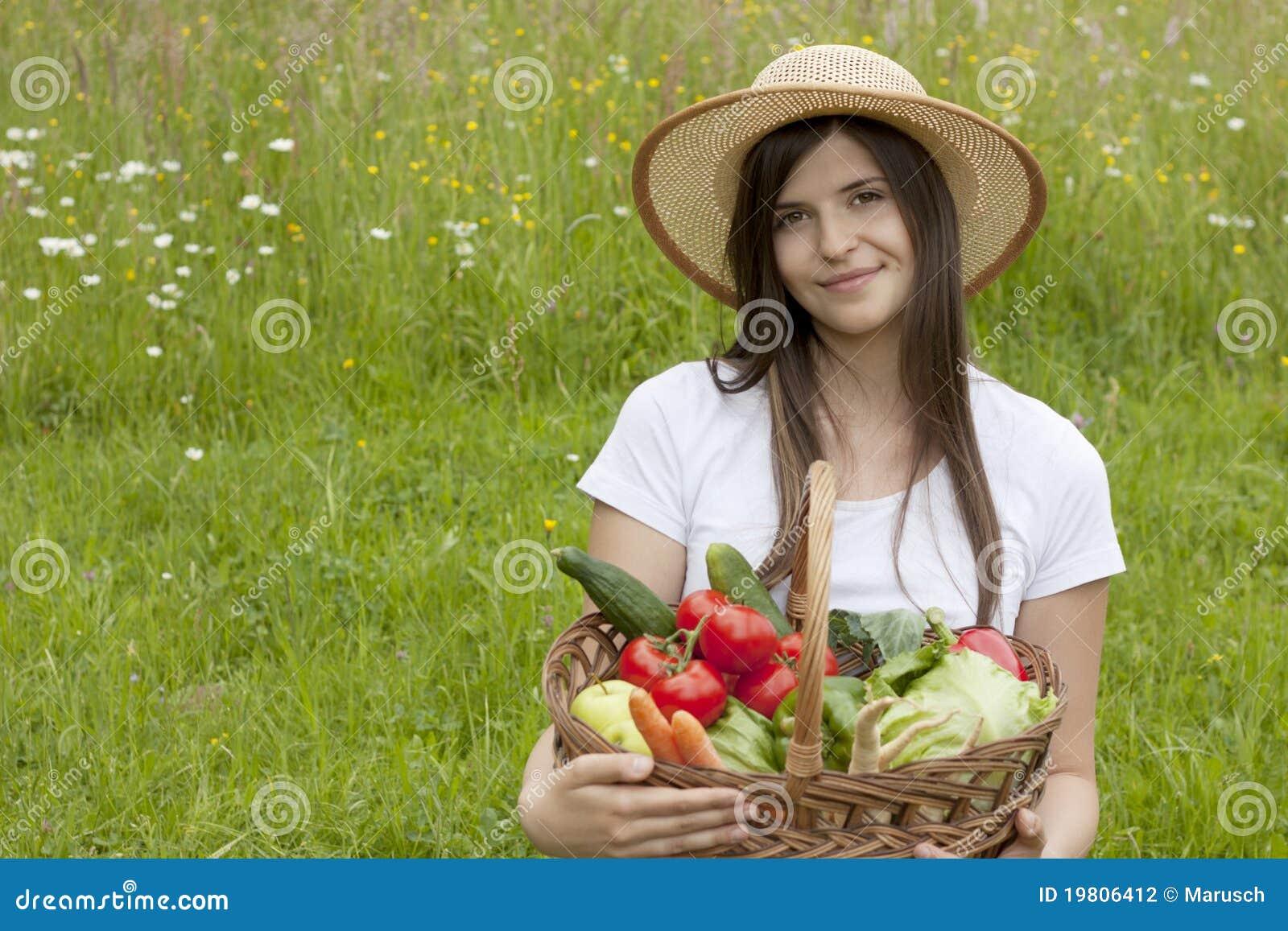 Beautiful Vegetable Garden Photography
