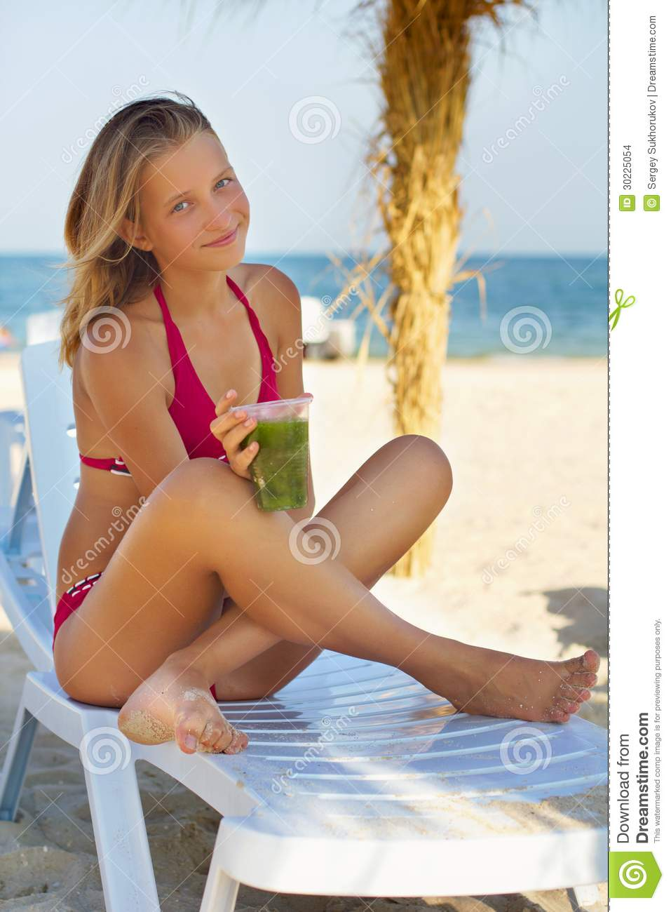 pretty teenage girl stock images image 30225054 beach chair clipart for silhouette beach chair clip art image