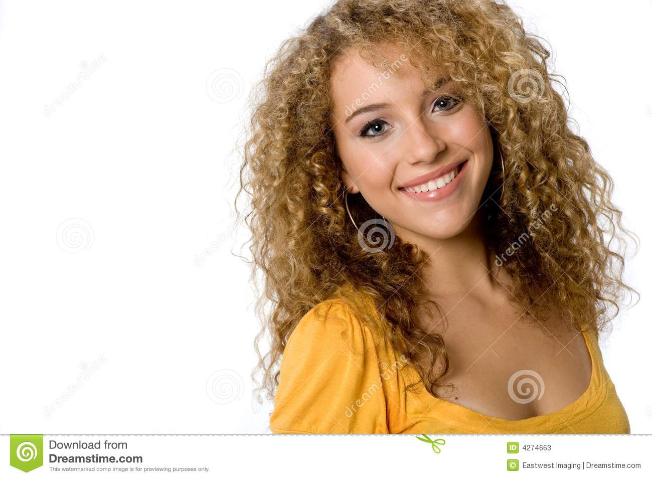 Pretty Teenager Stock Image Image Of Happy Person Smile
