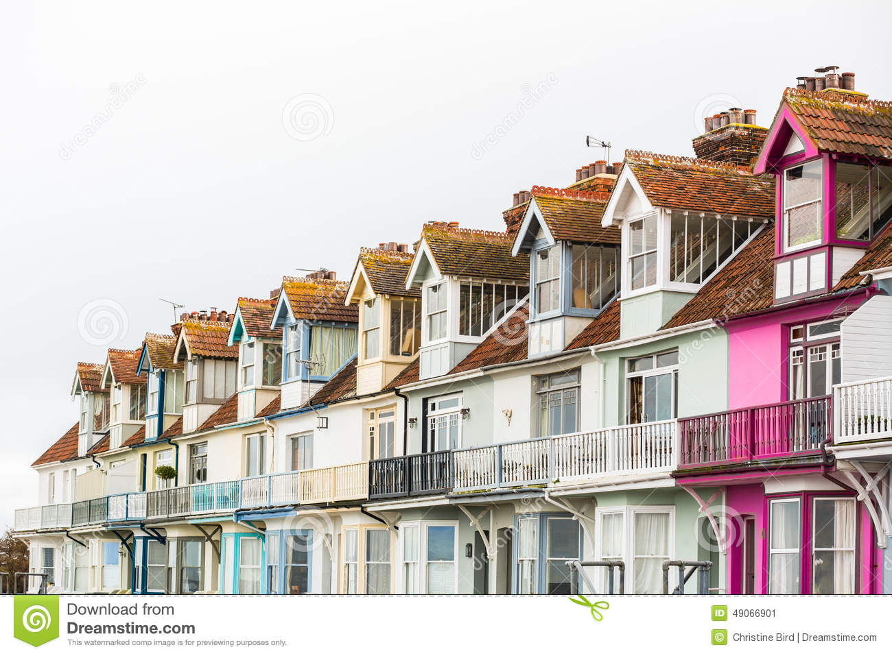 Pretty terrace houses in whitstable stock image image for Terrace homes