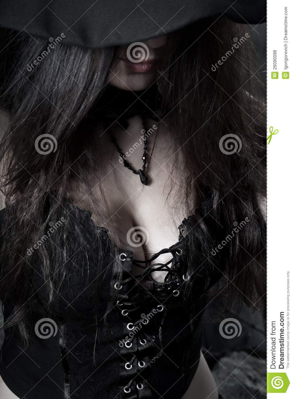 Pretty Witch Royalty Free Stock Photos Image 26090098