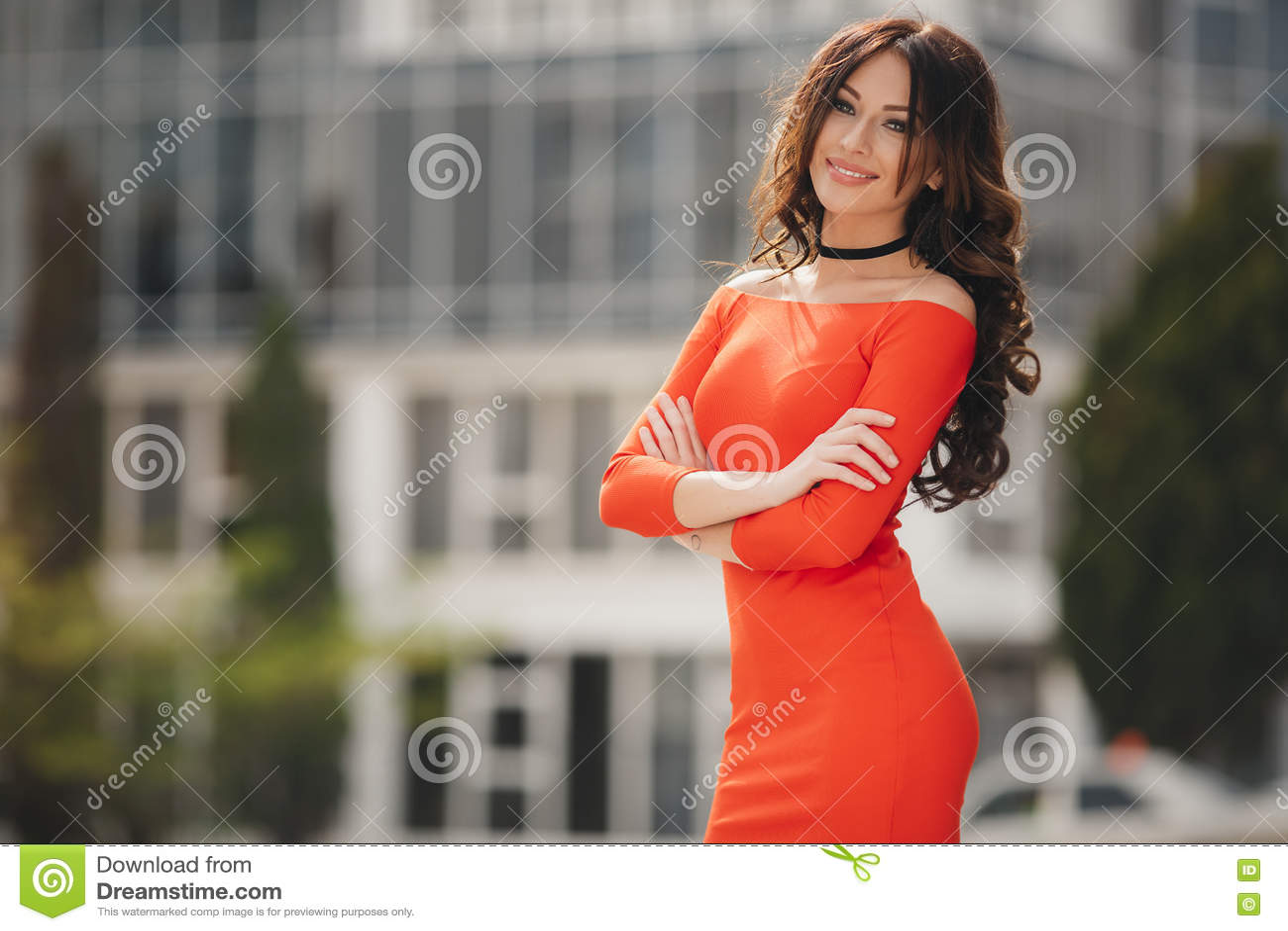 Large black woman posing indeed