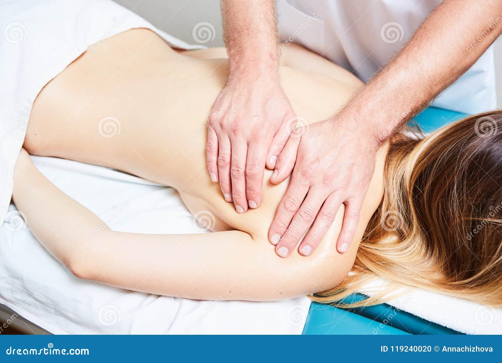 Sexy male masseur