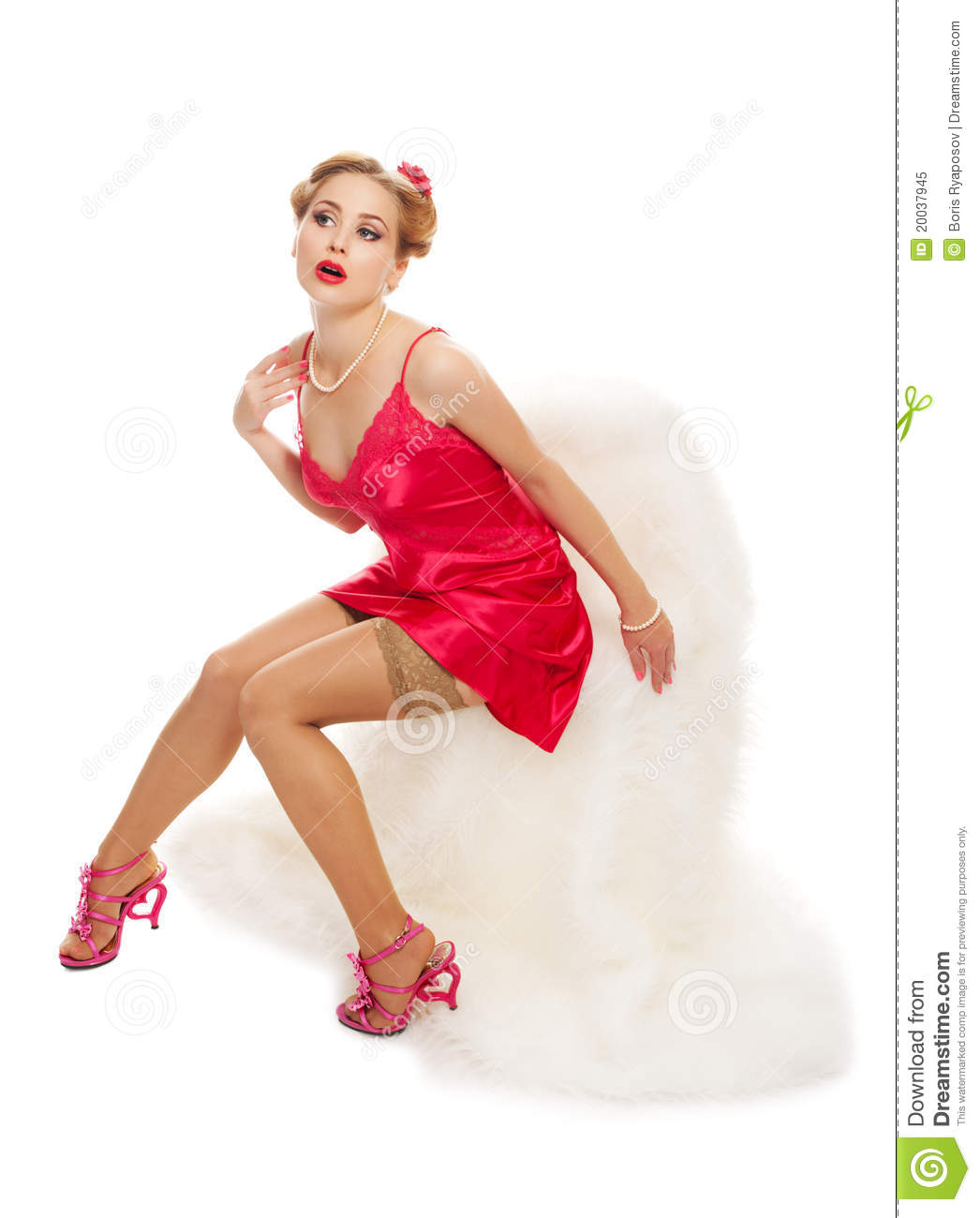 Pretty woman isolated stock image. Image of isolated ...