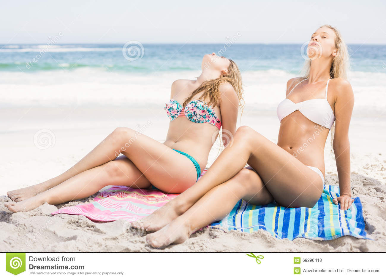 2 gorgeous ladies relaxing sorta - 1 3