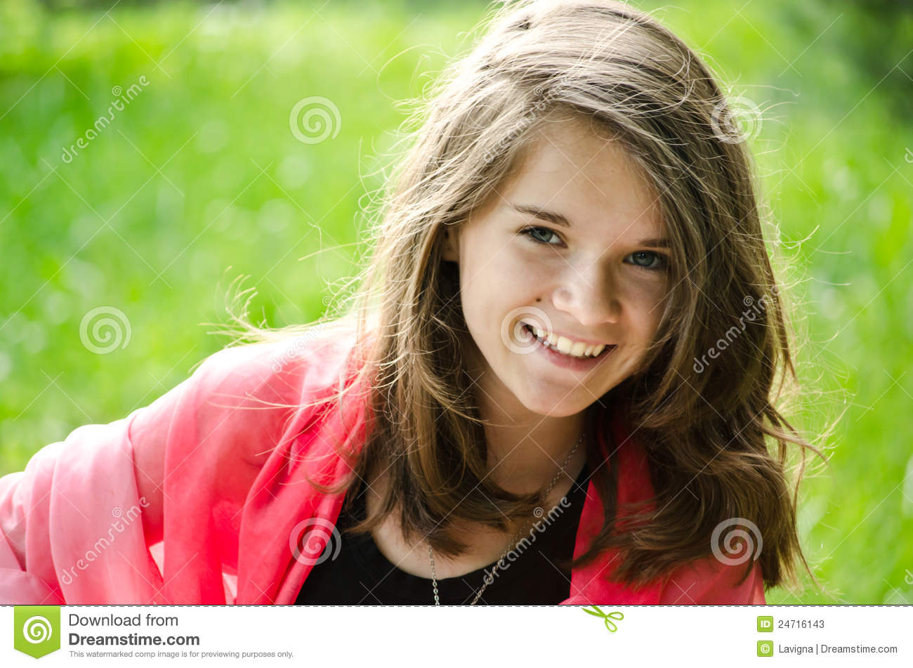 Pretty Young Girl Stock Photos - Image: 24716143