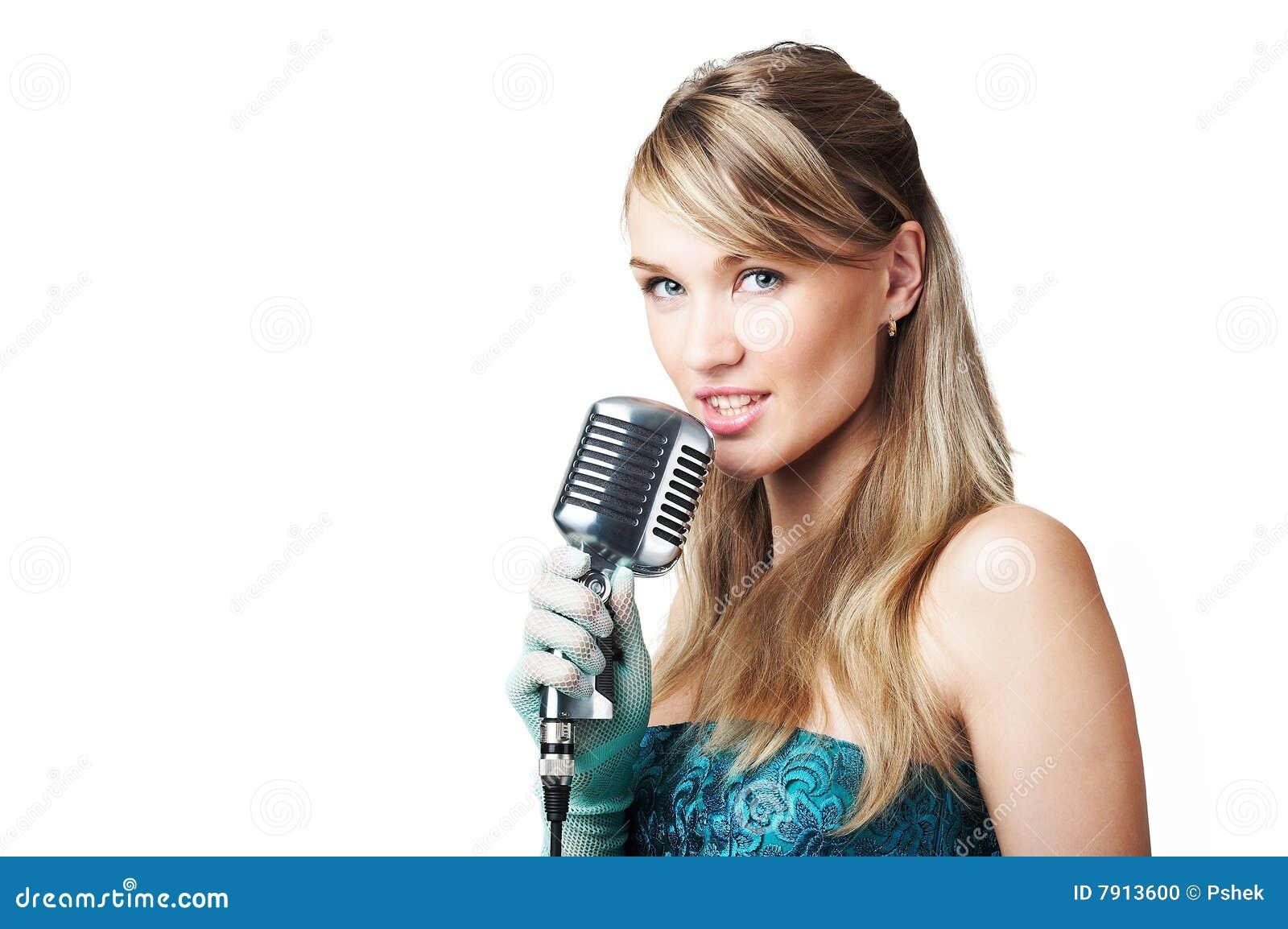 singing the girl retro - photo #19