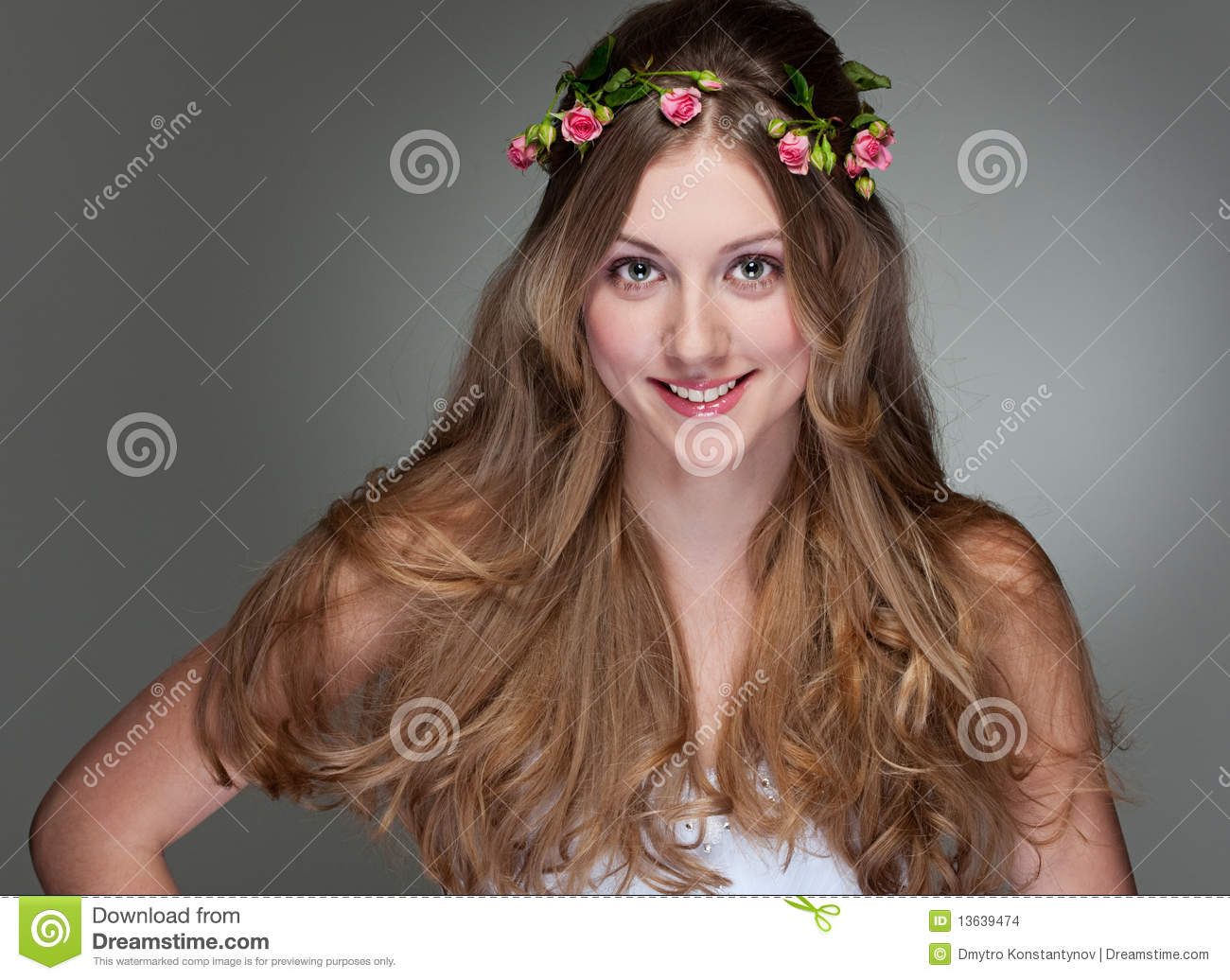 Pretty young woman