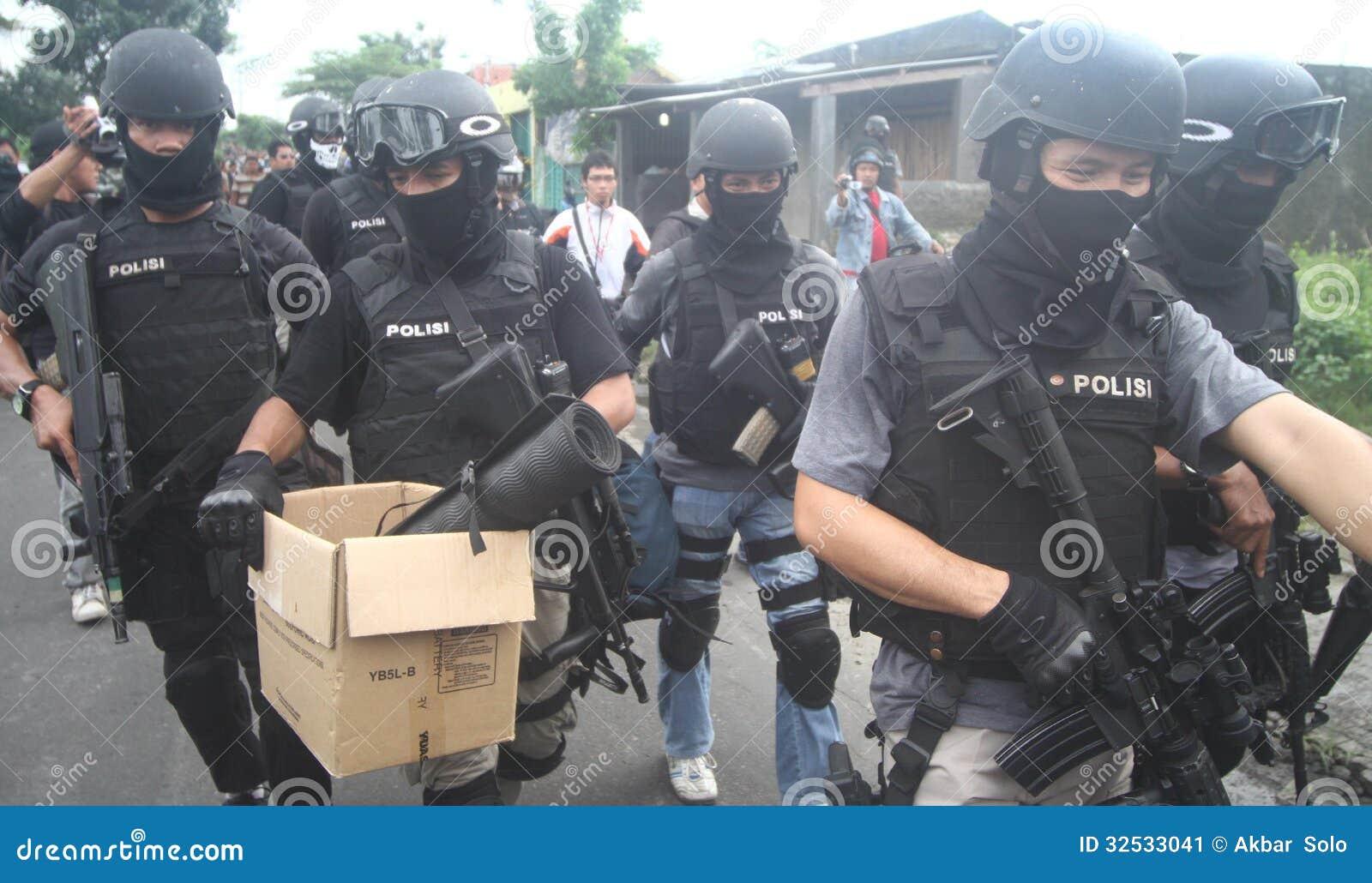 Preuves de terroriste