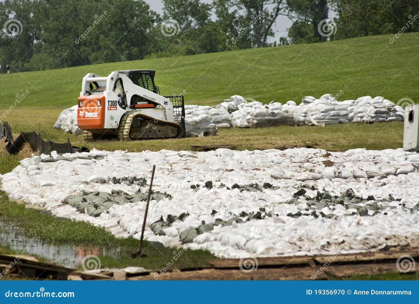 Prevenção da inundação do rio Mississípi