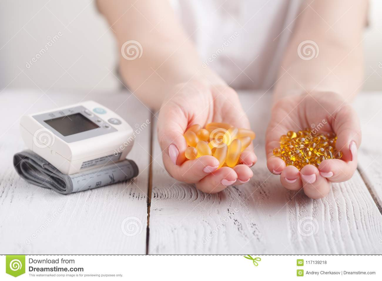 Prevent High Blood Pressure Capsules With Fish Oil And ...