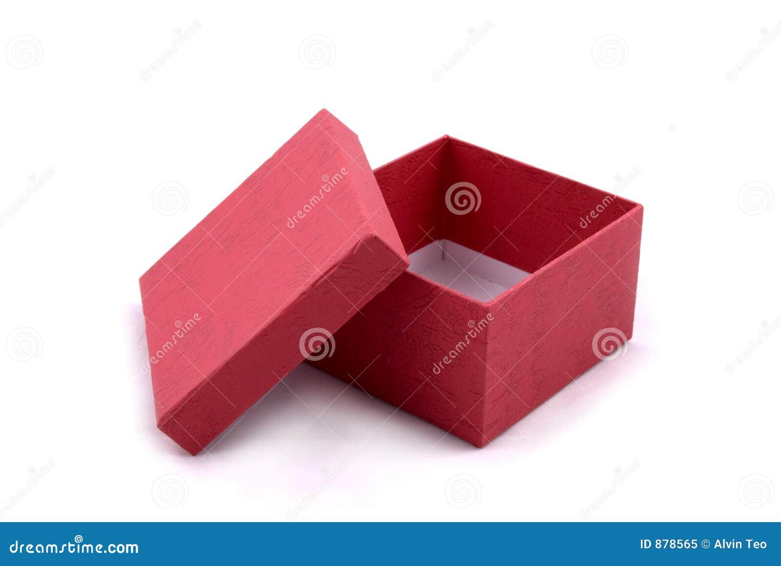 Prezent pudełkowata czerwone.