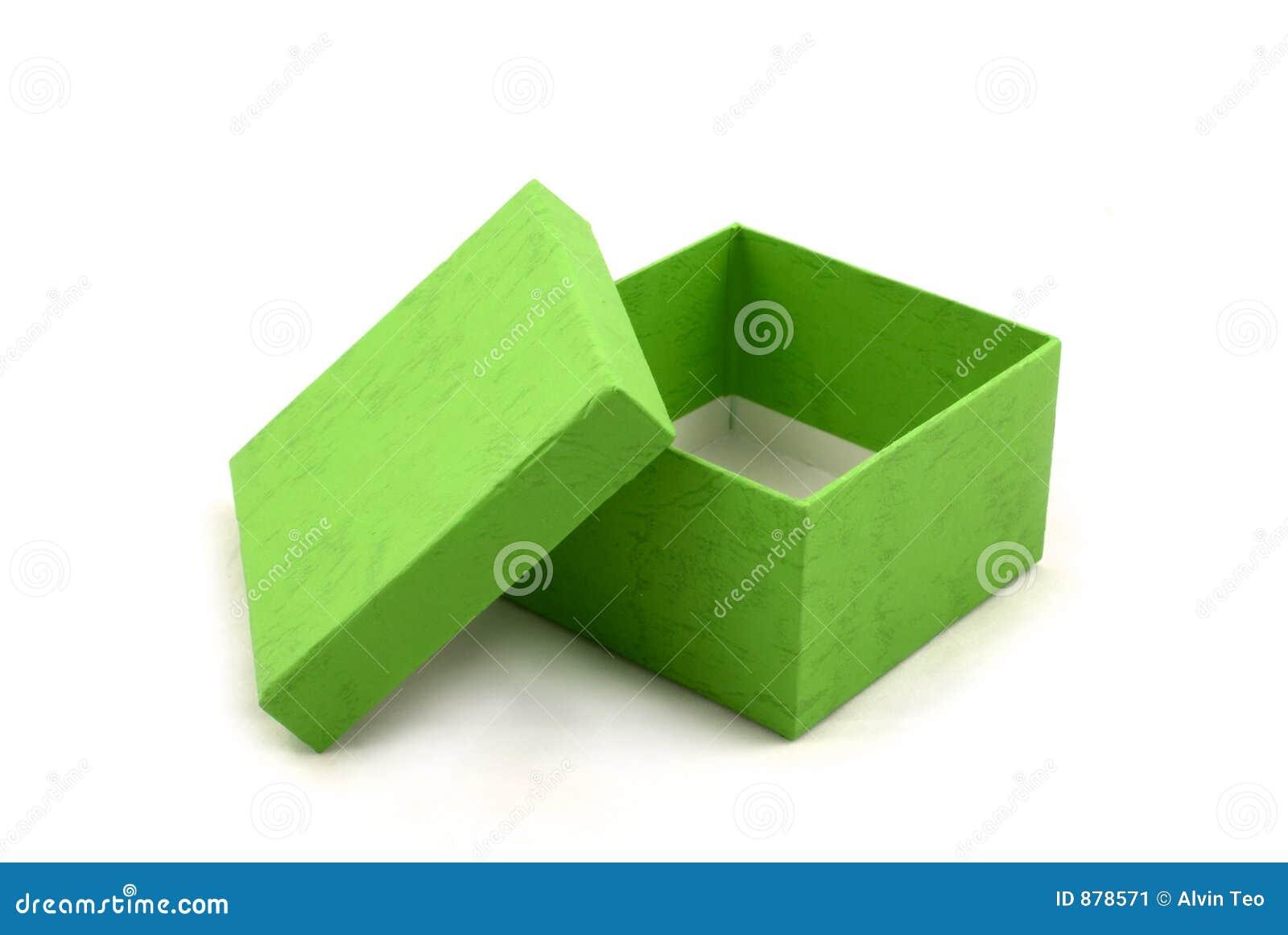 Prezent pudełkowata green