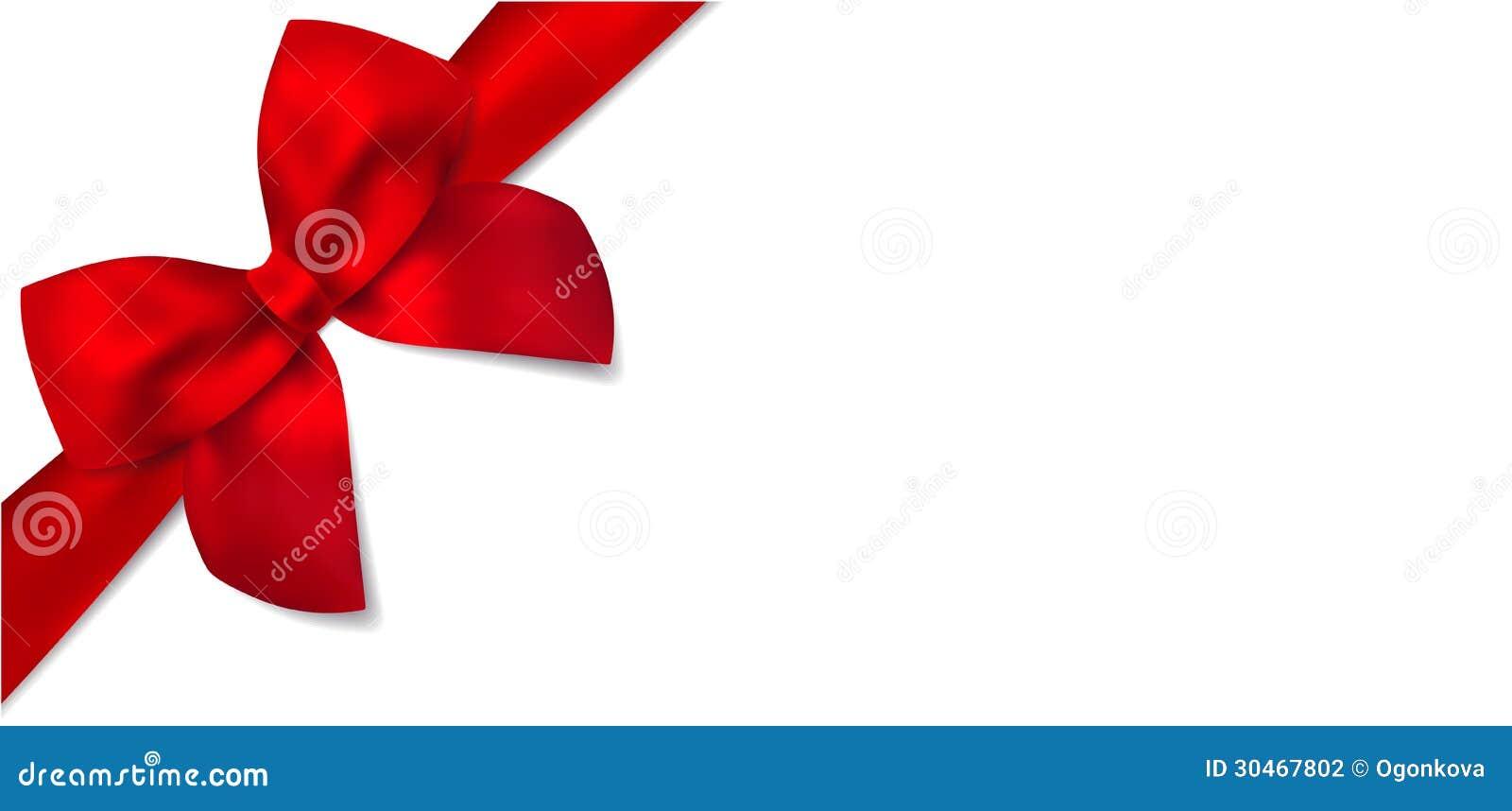 Prezenta świadectwo z prezenta czerwonym łękiem