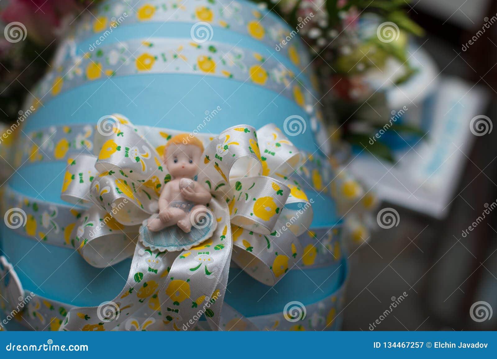 Prezenta pudełko dla nowonarodzonego dziecka, teraźniejszości pudełko dla nowonarodzonej chłopiec, teraźniejszość dla babyboy