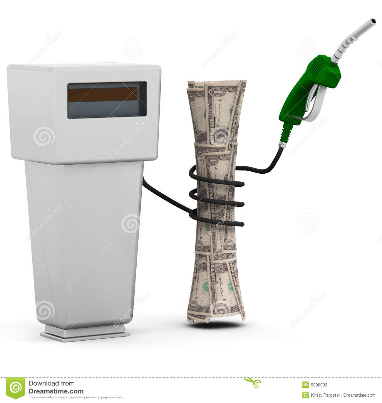 Download Prezzi Di Combustibile Aumentanti Illustrazione di Stock - Illustrazione di soldi, concetto: 5300003