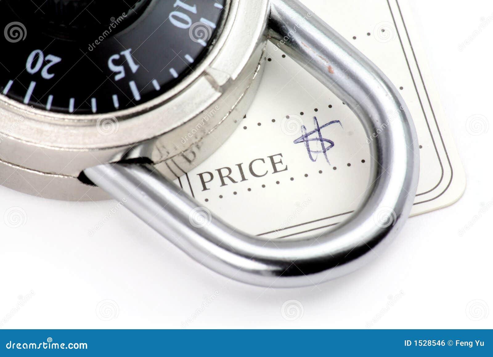 Prezzo da pagare e serratura