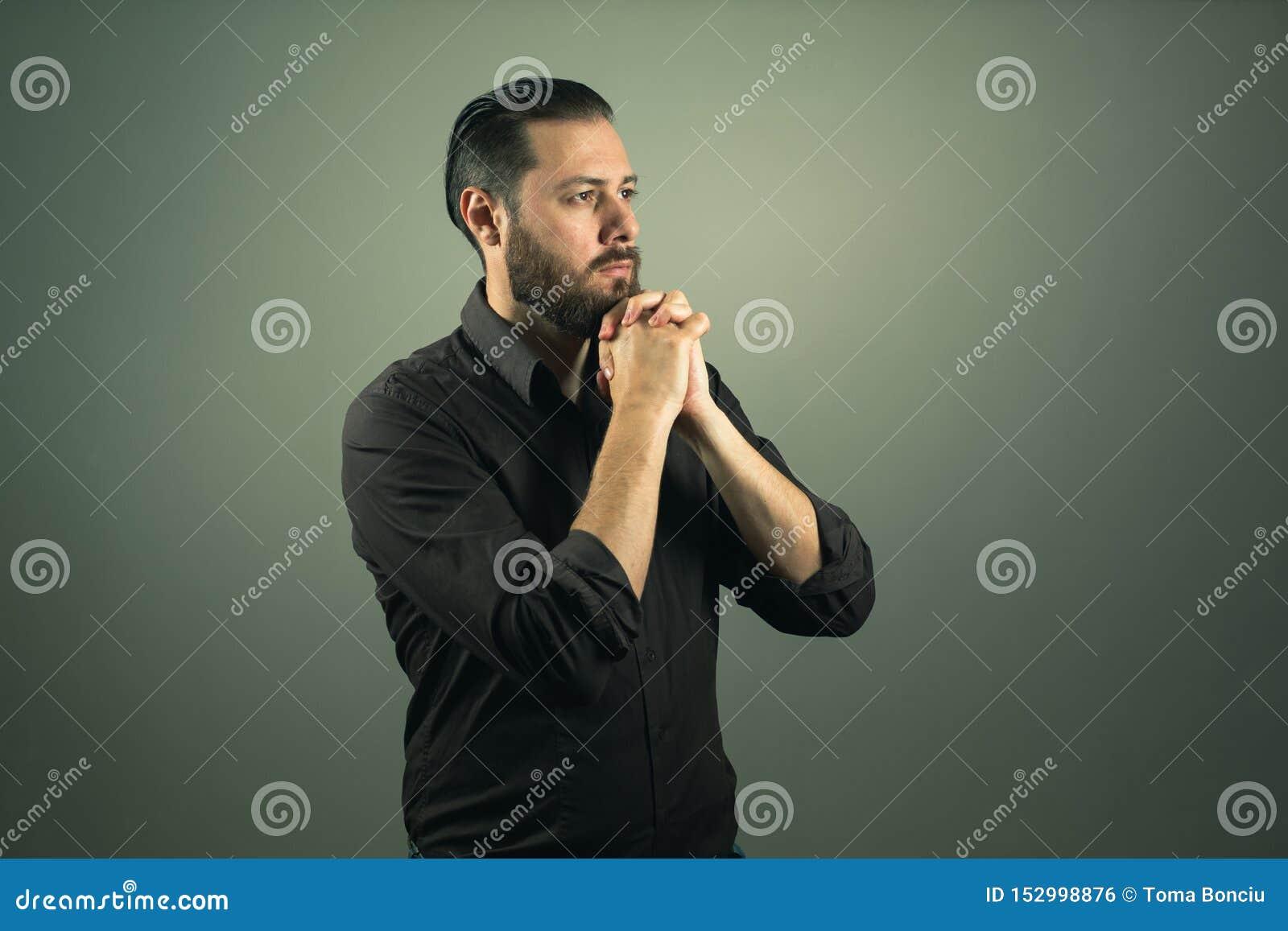 Prière d homme de barbe La vie religieuse