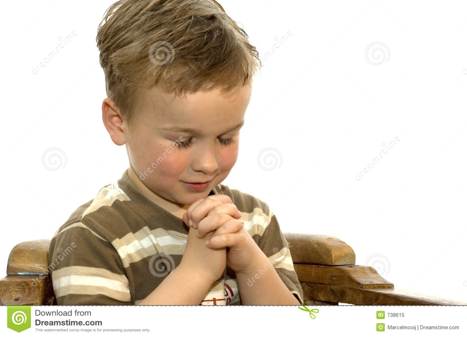 Prière de petit garçon