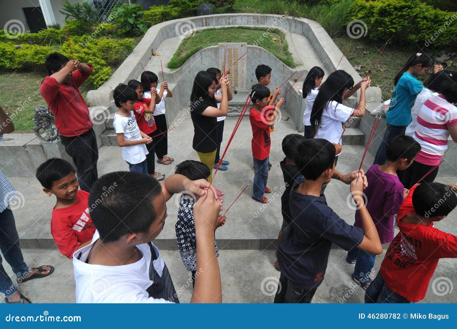 Prière pour des ancêtres