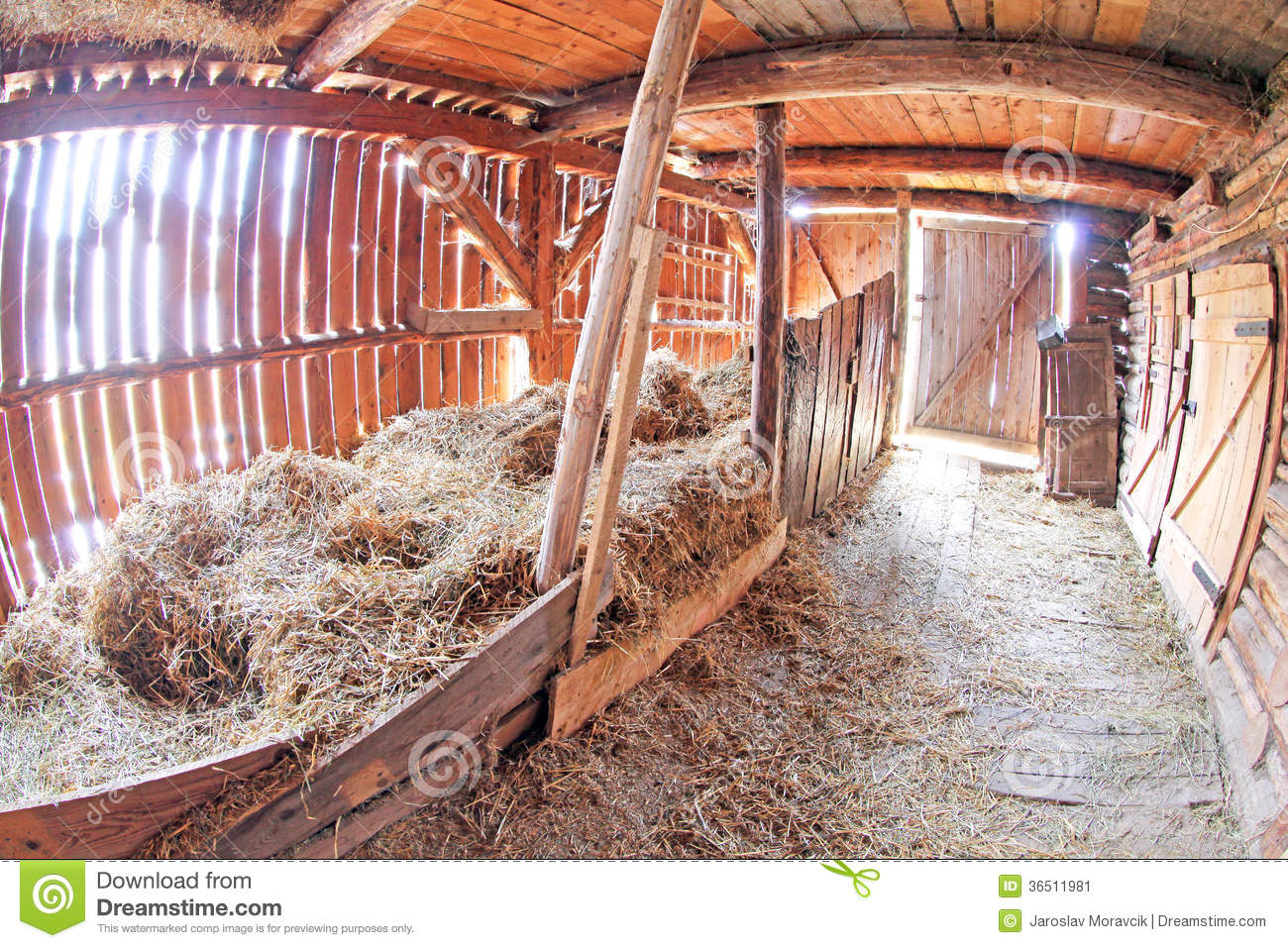 Pribylina - interior of rural house