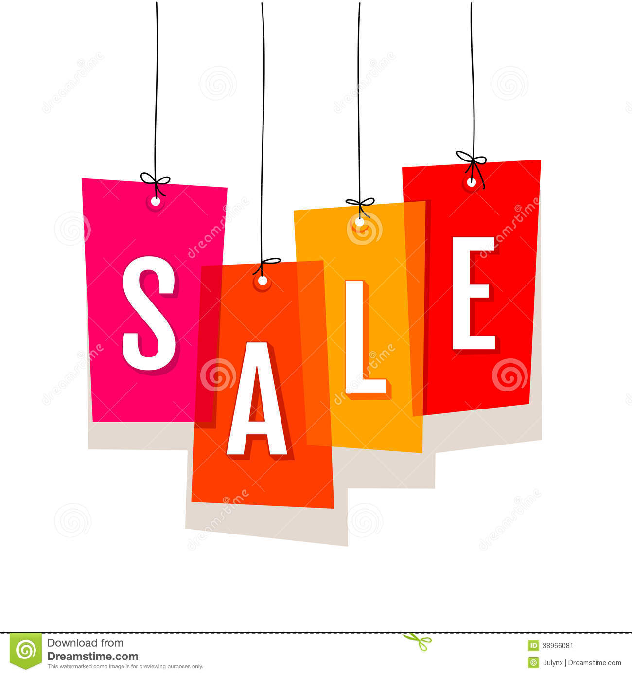 Price Labels Sale Stock Vector Image 38966081
