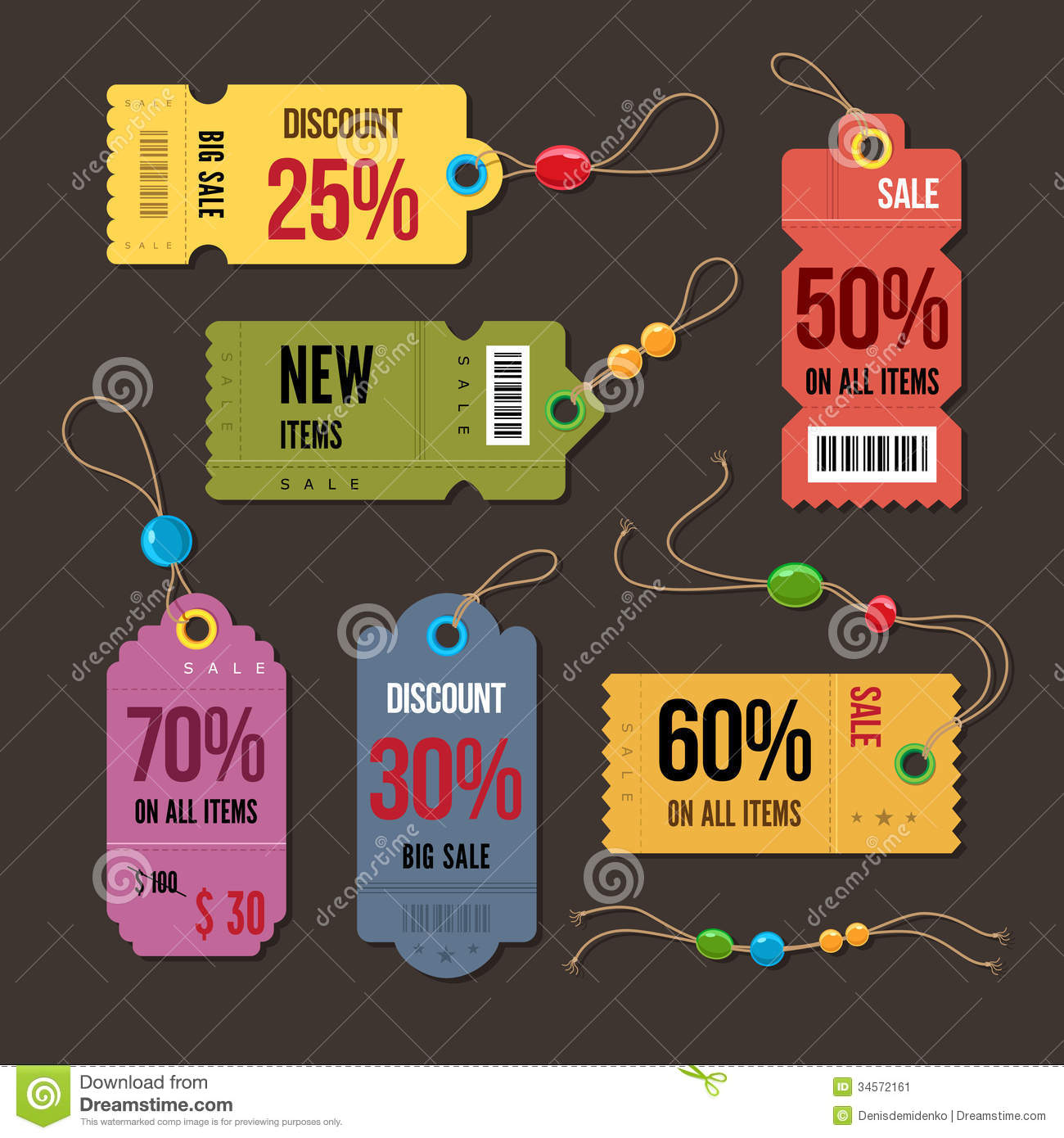 price tag  stock vector  image of offer  card  element