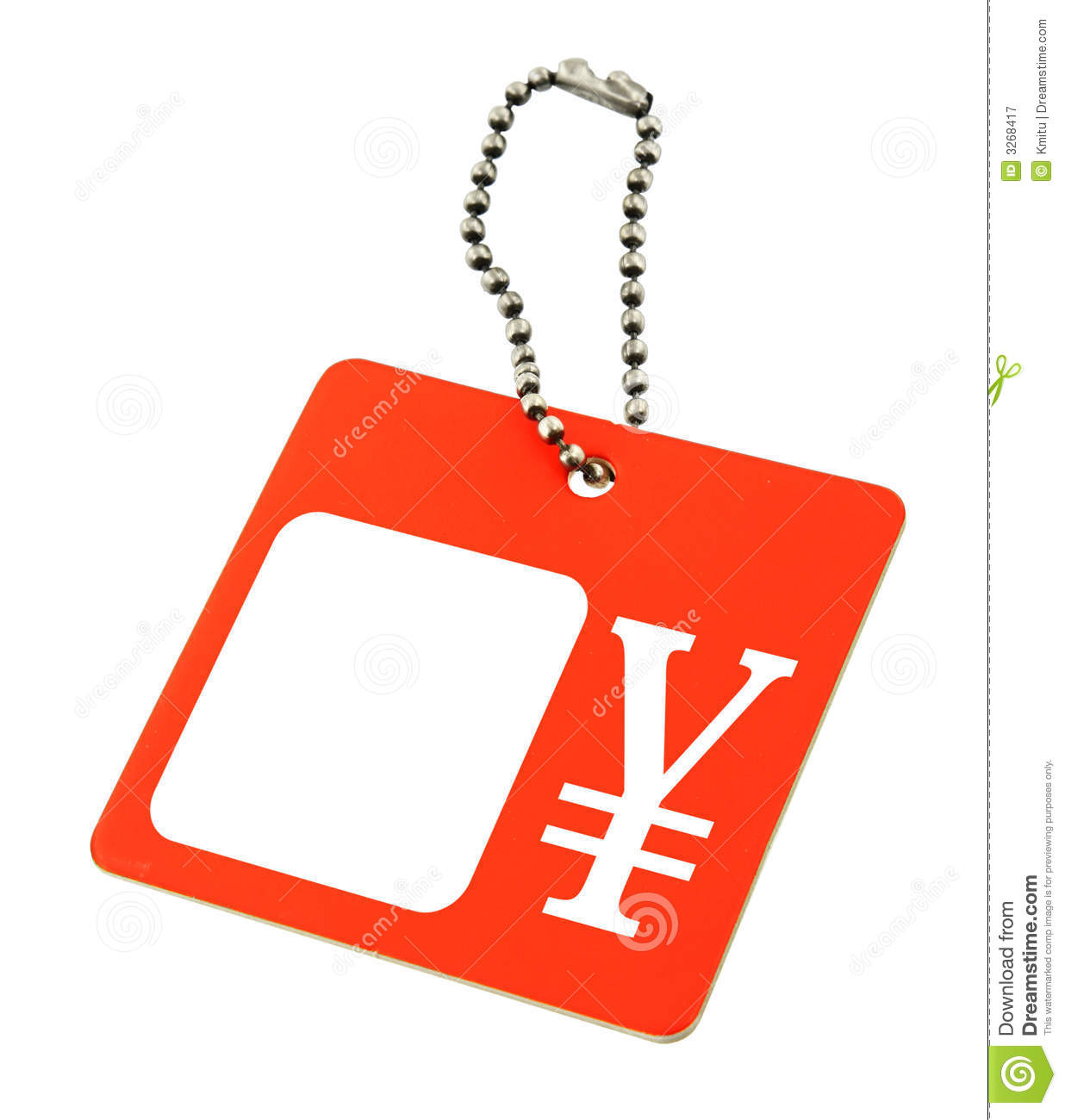 Price Tag With Japanese Yen Stock Image Image Of Reduction Retail