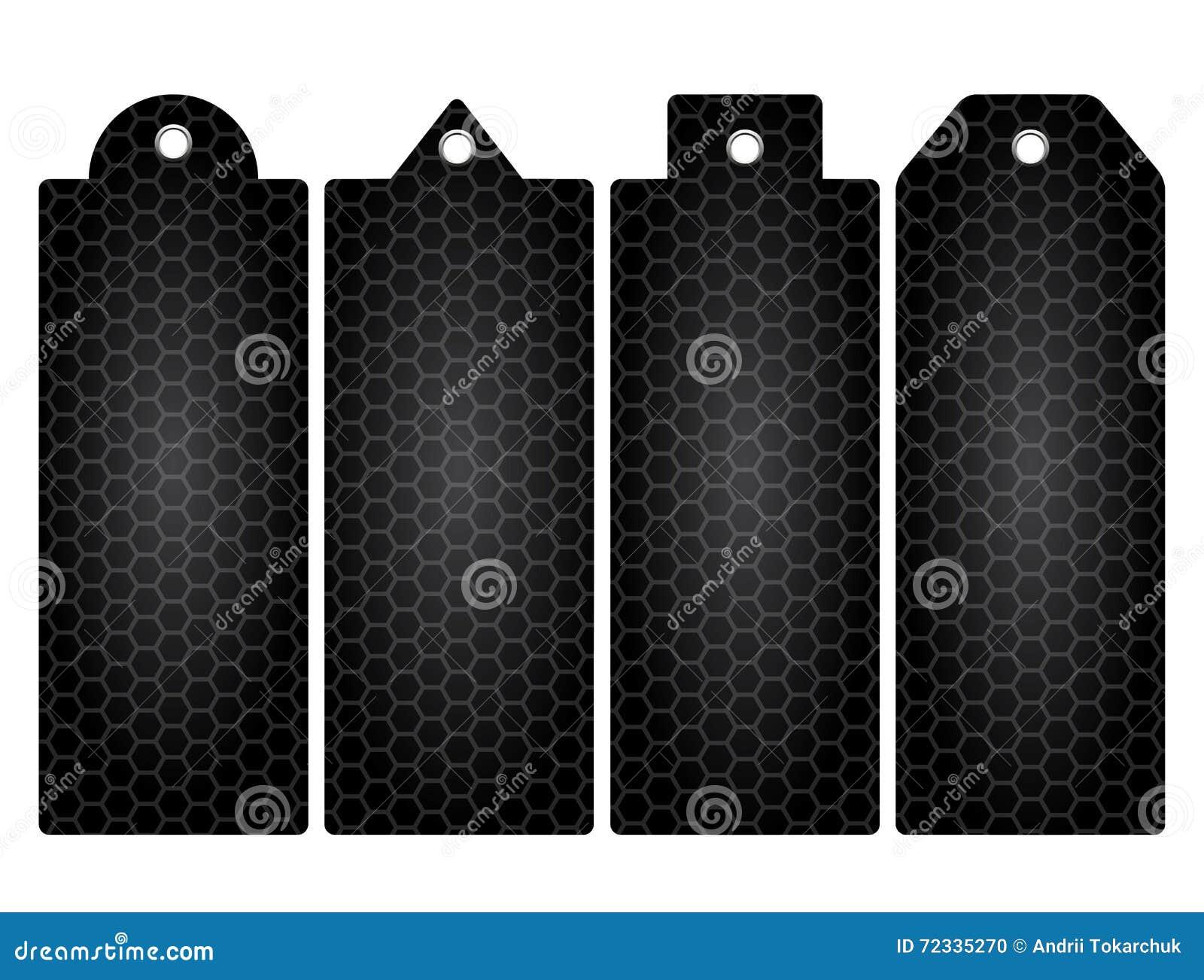 Price Tag, Label  Honeycomb  Iron Mesh  Stock Vector