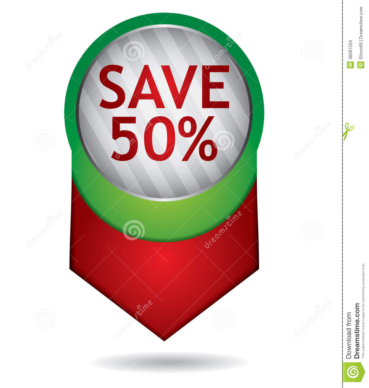 Price Tag Template Stock Images - Image: 36097204