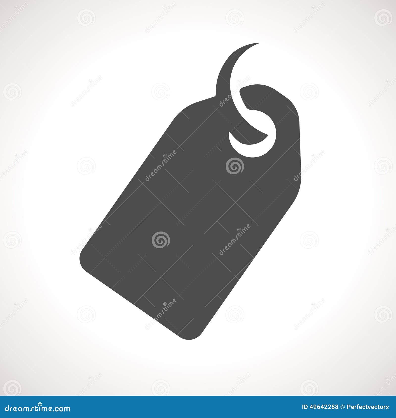 Price Tag, Vector Icon Stock Vector - Image: 49642288