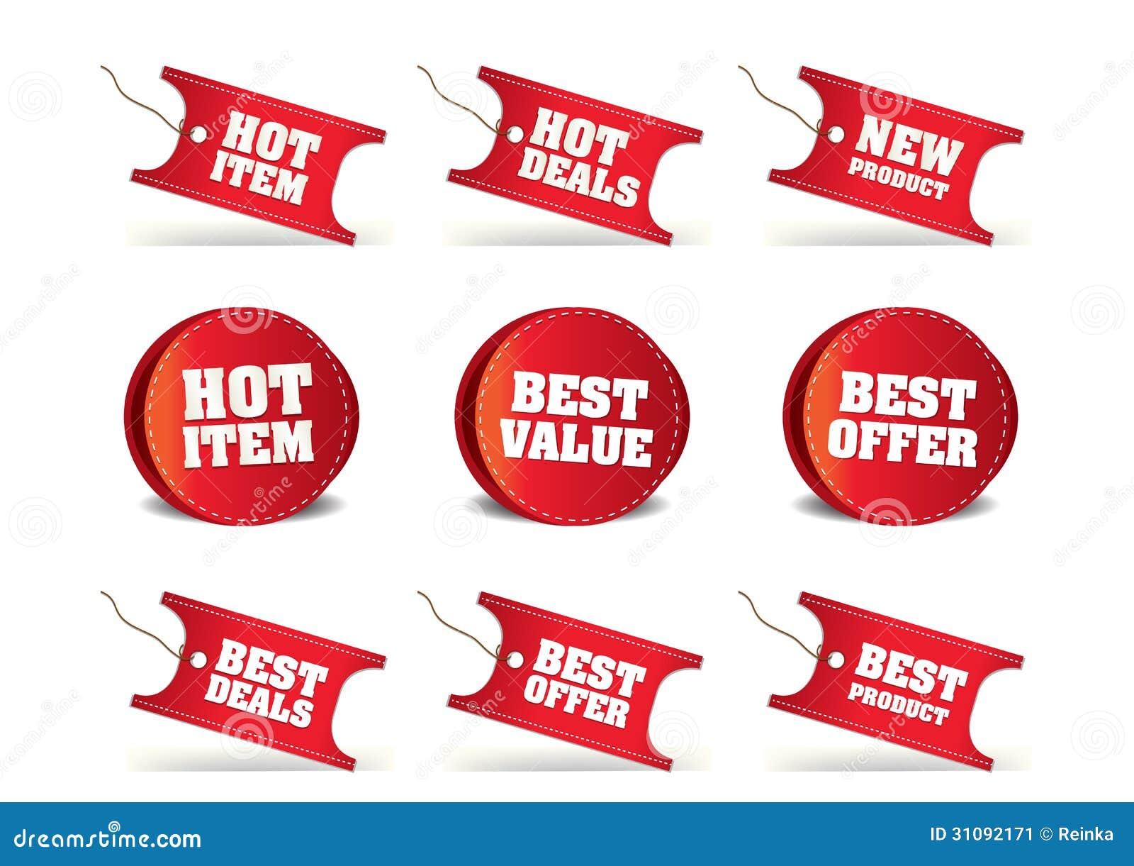 Price Tags 05 stock illustration  Illustration of message - 31092171