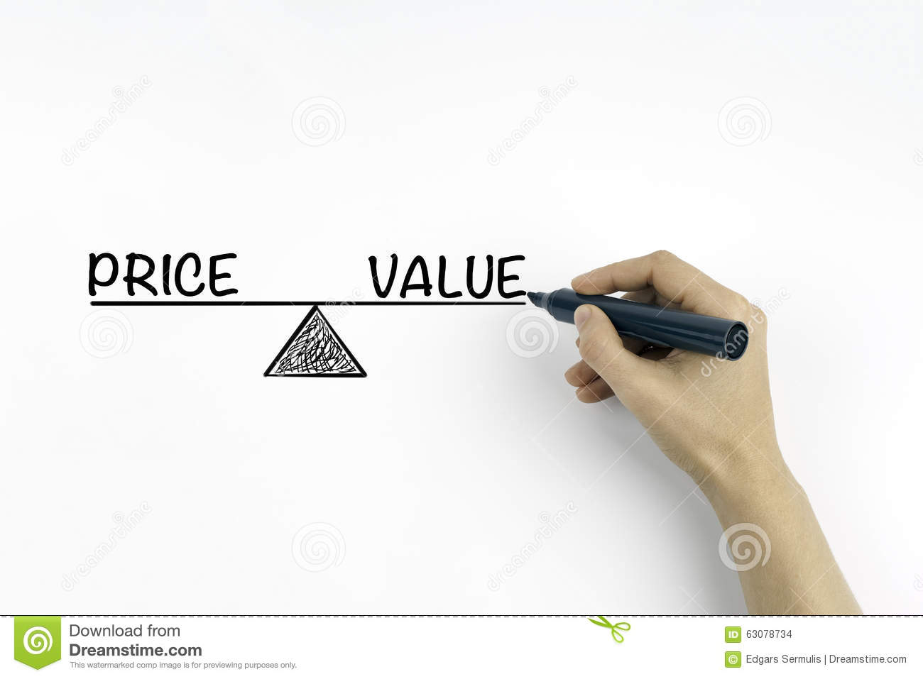 how to value a business sell price