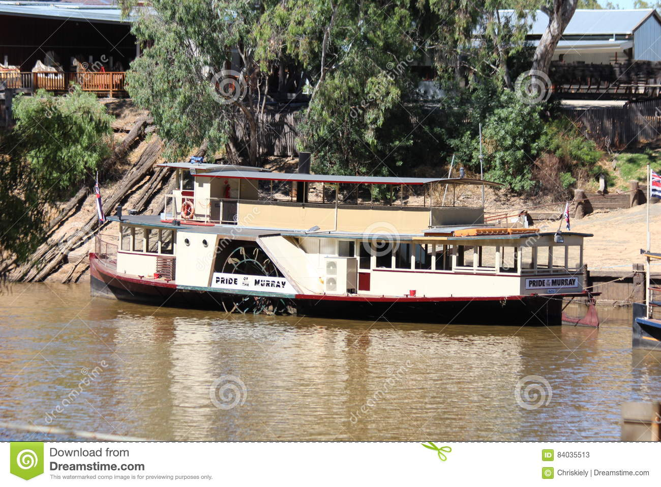 pride of the murray paddlesteamer at echuca moama on the. Black Bedroom Furniture Sets. Home Design Ideas