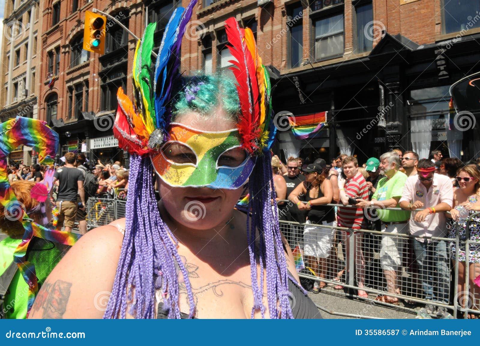 from Joel gay parade mask