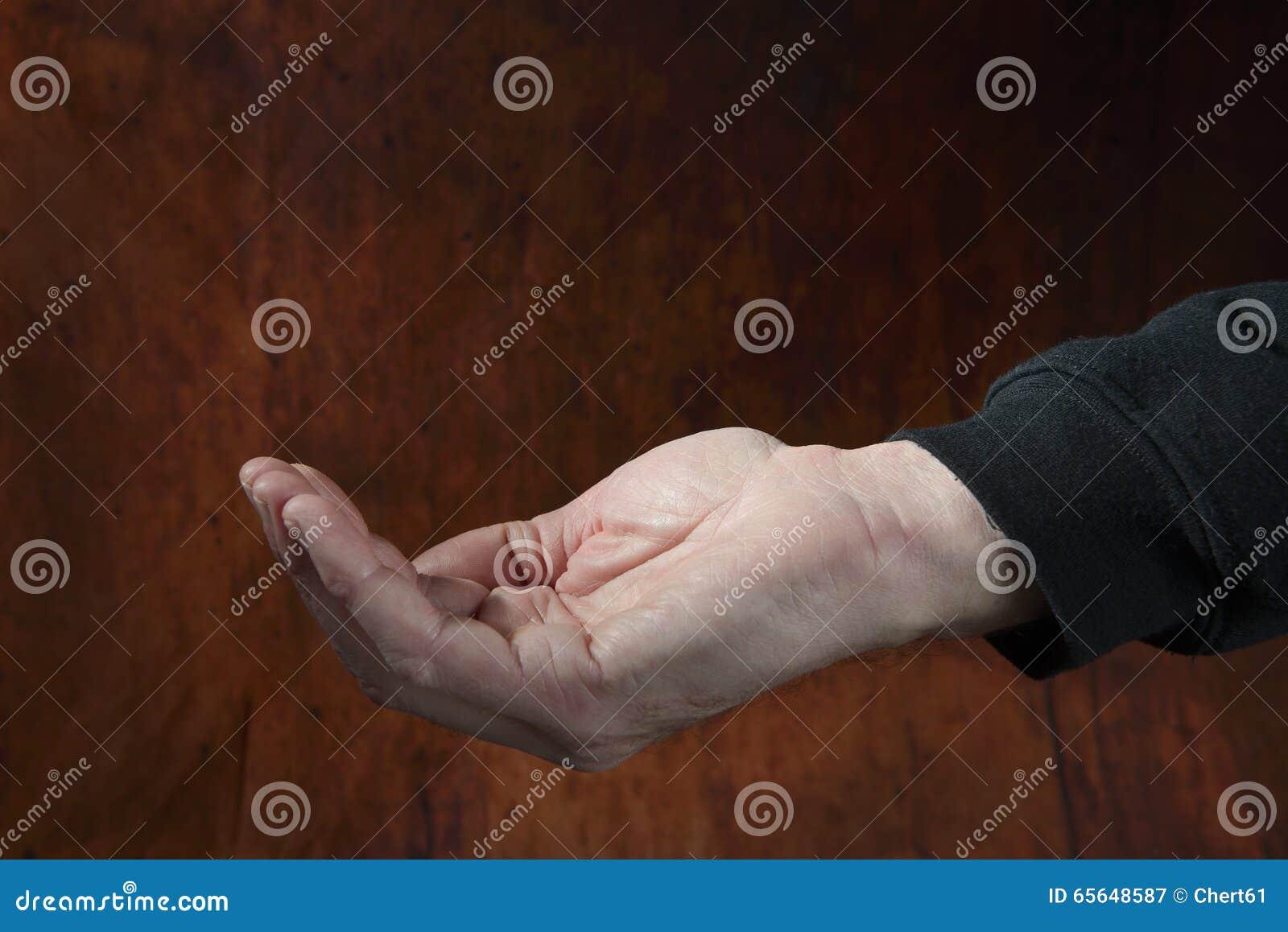 Prier la main d un mâle