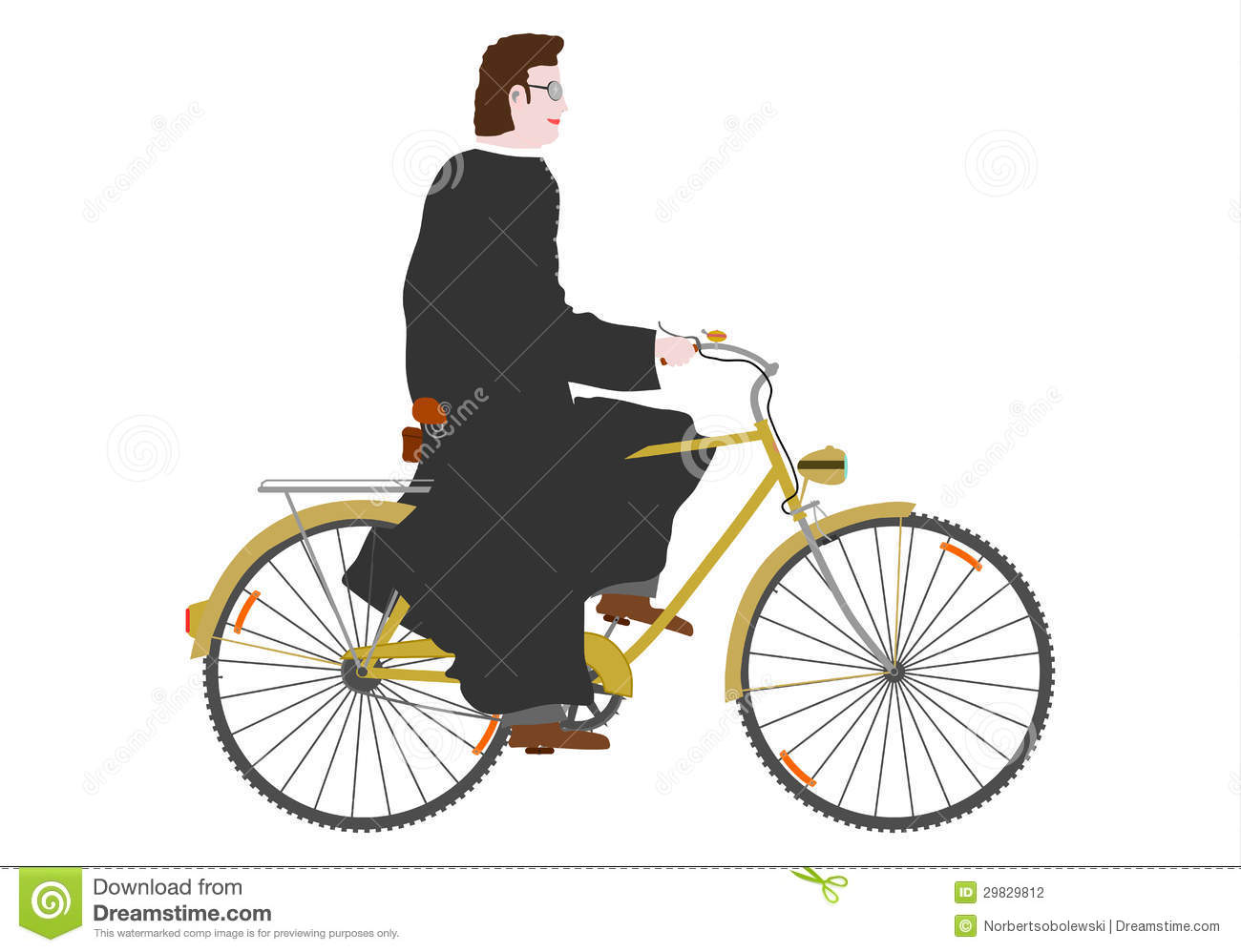 priest on a bike stock photography image 29829812 tandem bicycle clipart tandem bicycle clipart free