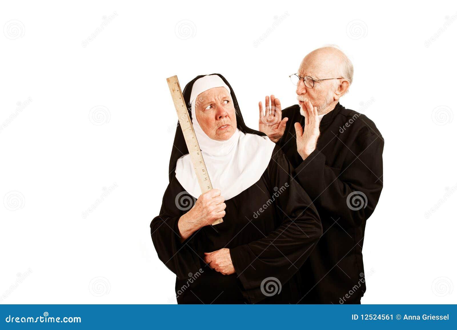 Priester und Nonne